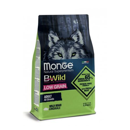 Monge BWild Adult All Breds Cinghiale - 2,5kg