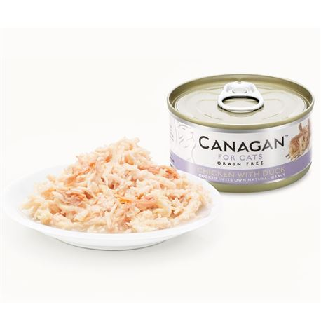 CANAGAN Chicken With Dack  12x75g 2