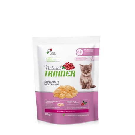 Natural TRAINER kitten con Pollo - 300g 1