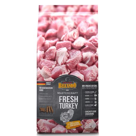 BELCANDO® MASTERCRAFT -  Fresh Turkey - 2,2 kg