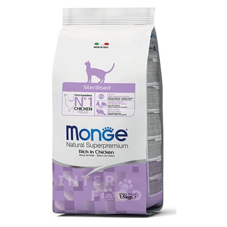 Monge Natural Superpremium Daily Line Sterilised ricco di pollo - 400g 1