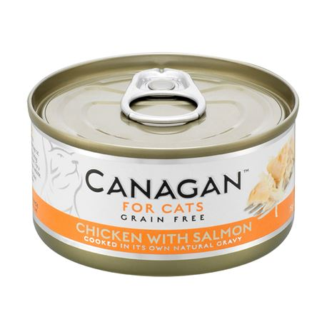 CANAGAN Chicken With Salmon  12x75g