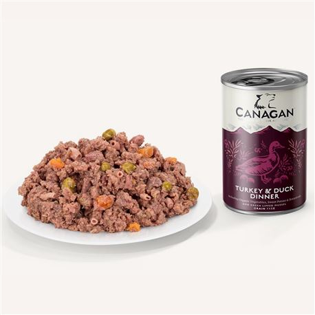 CANAGAN Turkey & Duck 400g 2