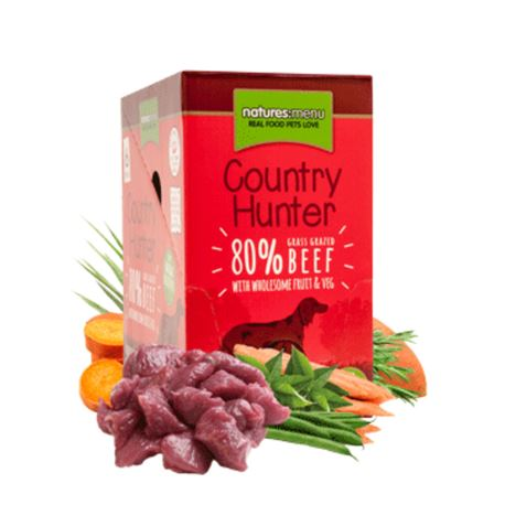 Natures:menu Country Hunter Beef - 6 x 150gr