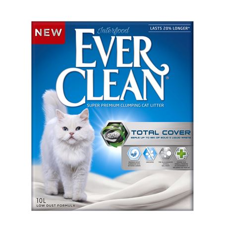 EVERCLEAN TOTAL COVER - LETTIERA per GATTI - 10lt
