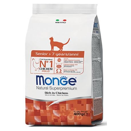 Monge Natural Superpremium Daily Line Senior ricco di pollo - 400g