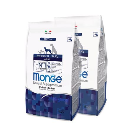 Monge DL Adult Medium - 2x12kg