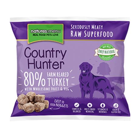 Natures:menu Country Hunter Turkey 1kg 2
