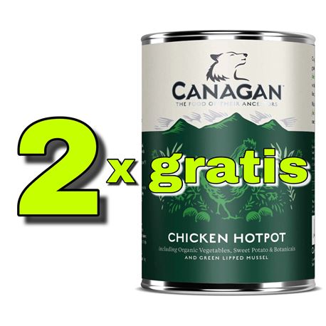 CANAGAN Free-Range Chicken - 2 x 12kg + 2 lattine + 1 biscotti 2
