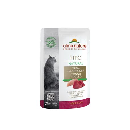 Almo Nature HFC Natural - Tonno e Pollo - 55g
