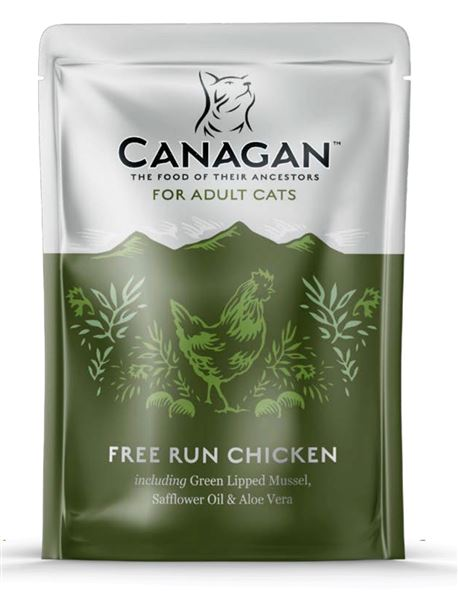 CANAGAN Free Run Chicken 8x85g