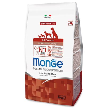 Monge SL Mini Puppy & Junior Agnello e Riso 2,5kg