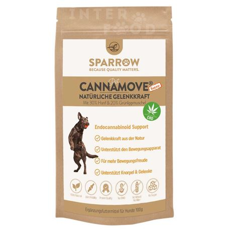 SPARROW Pet CannaMove® Forte - 100g