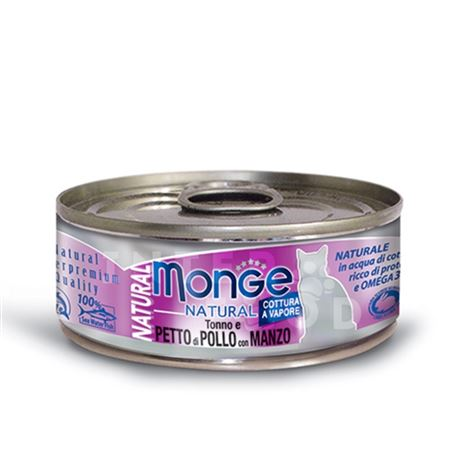Monge Natural Superpremium Daily Line Indoor ricco di pollo - 400g 3