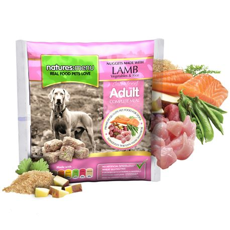 Natures Menu Original Raw Nuggets Lamb - 1kg
