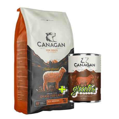 CANAGAN Grass-Fed Lamb 12kg + lattina gratuita