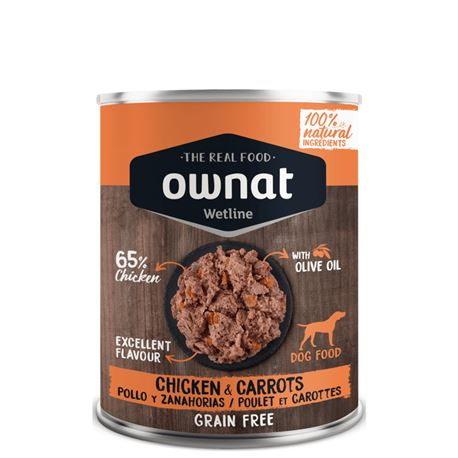 OWNAT WETLINE CHICKEN & CARROTS - 400gr