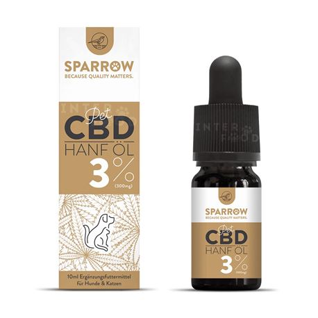 SPARROW Pet CBD - Snack di pollo con CBD 3