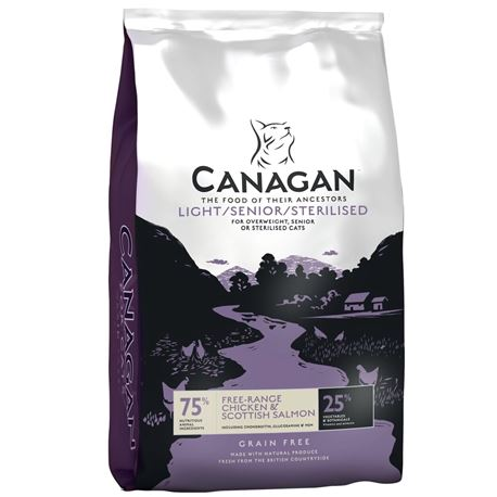 CANAGAN Light / Senior / Sterilised  1,5kg 1