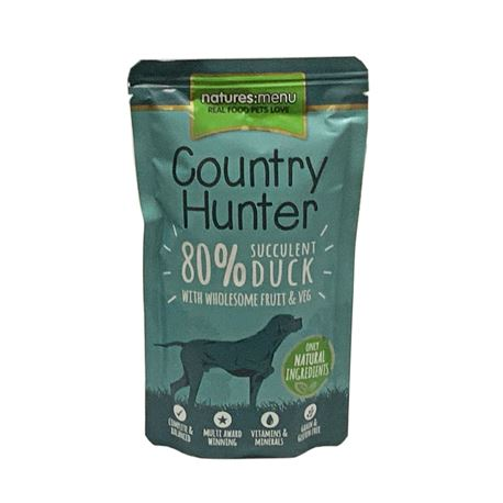 Natures:menu Country Hunter Duck- 6 x 150gr 2