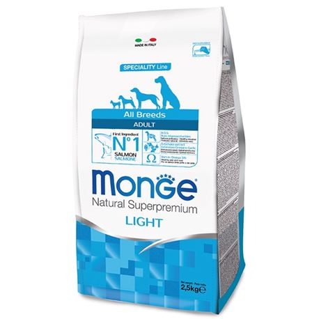 Monge SL All Breeds Light Salmone e Riso 12kg 1