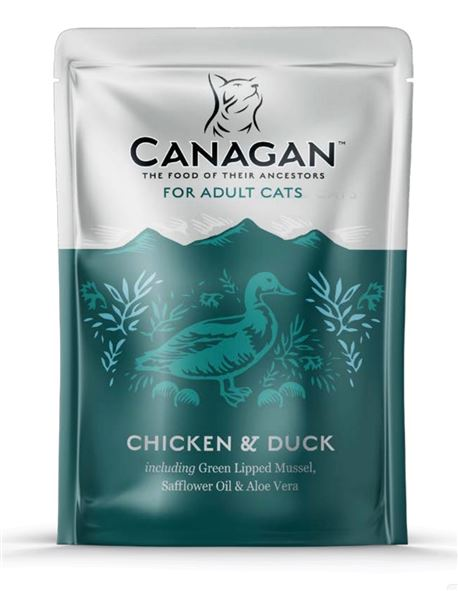 CANAGAN Chicken & Duck 8x85g