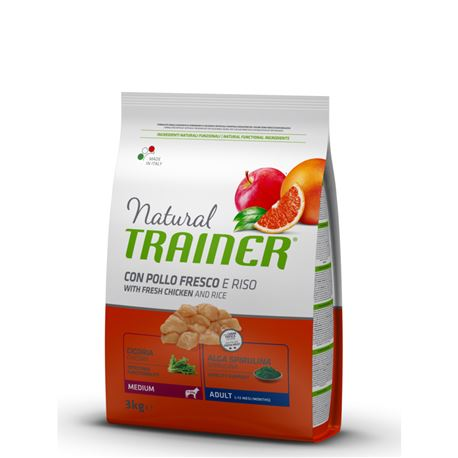 Natural TRAINER Adult Medium Pollo - 3kg