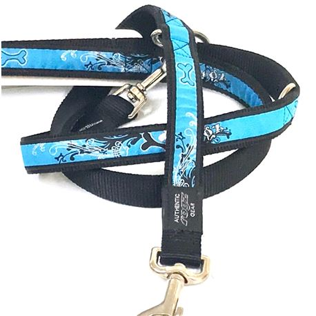 Rogz Collar Armed Response Turquoise Chrome XL 2