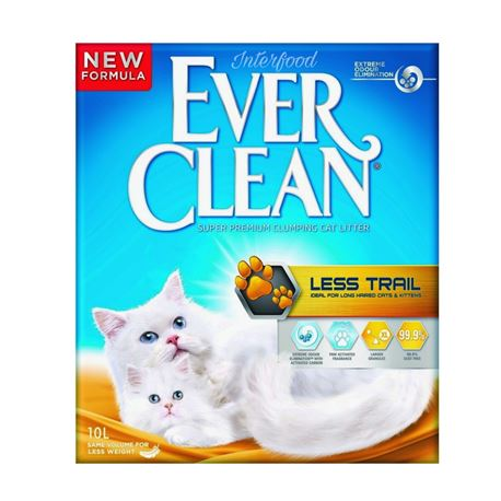 EVERCLEAN LESS TRAIL - LETTIERA per GATTI - 10lt