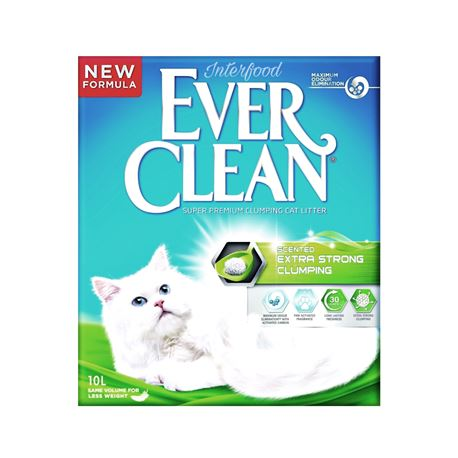 EVERCLEAN EXTRA STRONG CLUMPING - LETTIERA per GATTI - 10lt