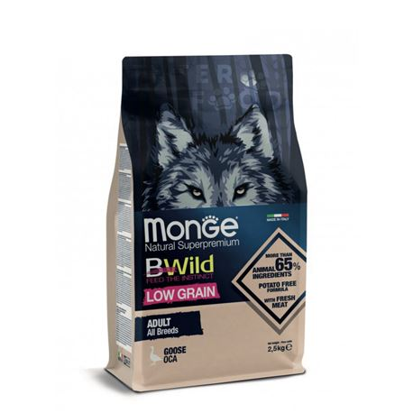 Monge BWild Adult All Breds Oca - 2,5kg