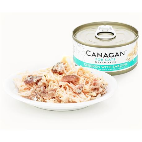 CANAGAN Chicken With Sardine  12x75g 2