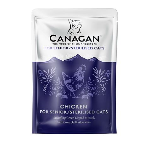 CANAGAN Light / Senior / Sterilised  375g 3