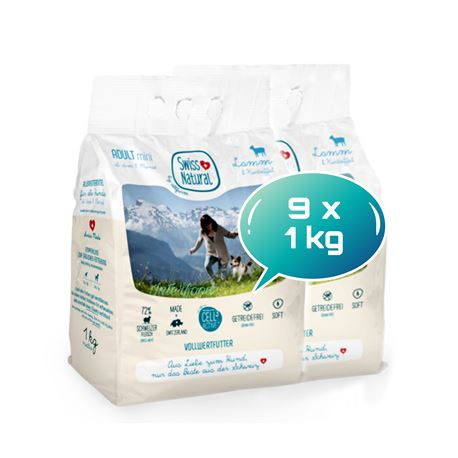 Swiss Natural Soft ADULT mini Lamm & Kartoffel - 9kg