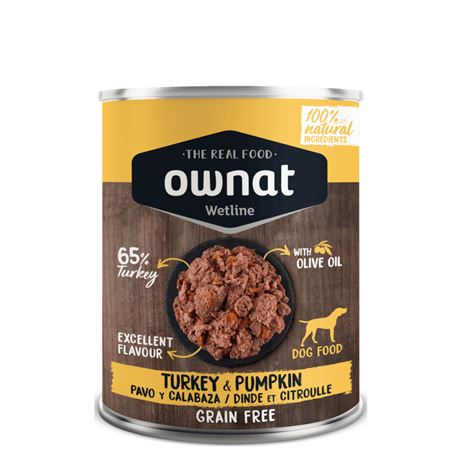 OWNAT WETLINE TURKEY & PUMPKIN - 400gr