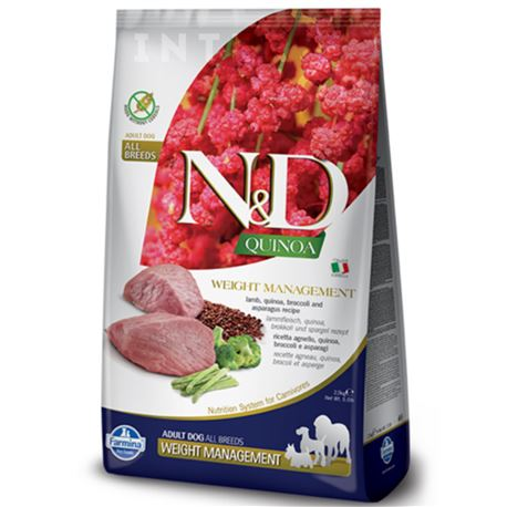 FARMINA N&D QUINOA - WEIGHT MANAGEMENT LAMB - 800g 1