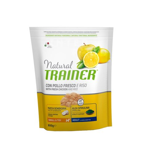 Natural TRAINER Small & Toy Adult con manzo fresco - 800g