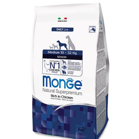 Monge DL Senior Medium 3kg