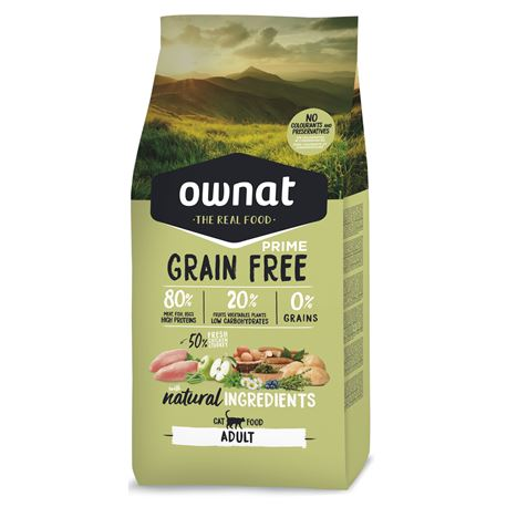 OWNAT Grain Free Prime Adult Chicken & Turkey - 1kg
