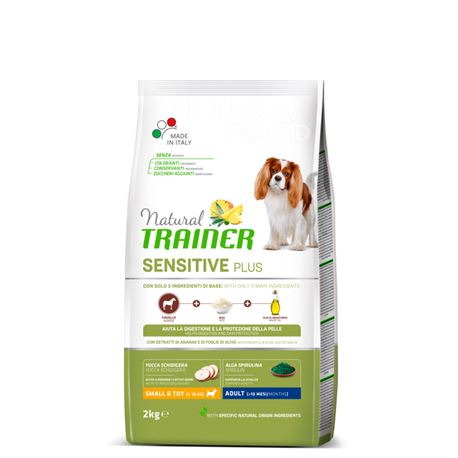 Natural TRAINER Sensitive Plus Small&Toy Adult  Cavallo - 2kg