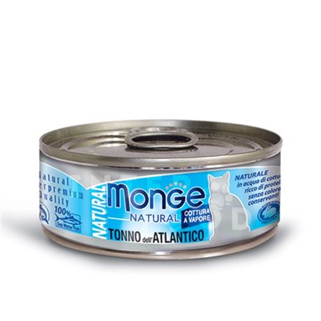 Monge Natural - Tonno dell'Atlantico - 80g