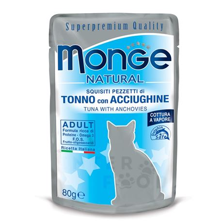 Monge Natural Monoprotein Sterilised - Trota - 400g 2