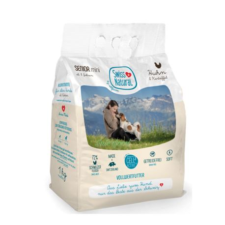 Swiss Natural Soft SENIOR mini Huhn & Kartoffel - 1kg