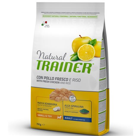 Natural TRAINER Small & Toy Adult con pollo fresco - 7kg