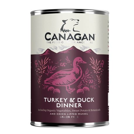 CANAGAN Turkey & Duck 400g 1
