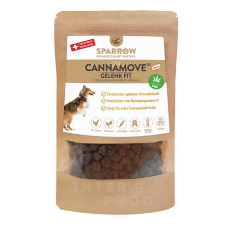 SPARROW Pet CannaMove® Forte Fit Snack - 200g