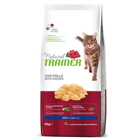Natural TRAINER Adult con Pollo - 10kg 1