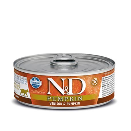 FARMINA N&D PUMPKIN FELINE - VENISON AND APPLE - 300g 3