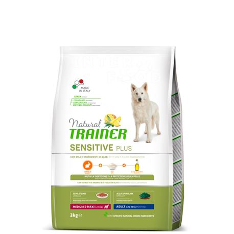 Natural TRAINER Sensitive Plus MediumMaxi Adult Coniglio - 3kg