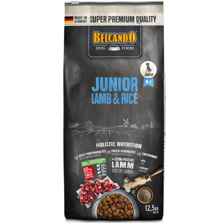 BELCANDO Junior Lamb&Rice - 12.5kg